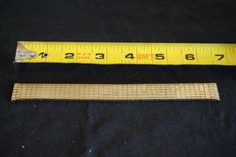 Vintage Speidel Twist O Flex Expansion Watch Band Strap Gold Colored 18-... - $16.02
