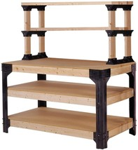 Workbench Shelving Table Storage Tool Kit DIY C... - $90.08