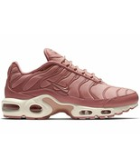 NIKE AIR MAX PLUS PINK/WHITE WOMEN SIZE 8 BRAND NEW FAST SHIPPING (AT569... - $123.55