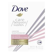 Dove Care Between Washes Dry Shampoo Sheets Go Active Instantly Absorbs Sweat 5  - $6.85