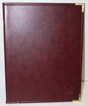 SECURITY PACIFIC BANK SINGLE POCKET PAD BROWN FOLDER OR PORTFOLIO BY HAZ... - $34.94