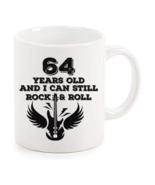 Rock And Roll Mug 64th Birthday Gifts Rock n Roll Mug Best Birthday Coff... - $14.95