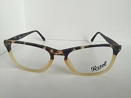 New Persol 3116-V 9035 Ebano e Oro 52mm Rx Women's Eyeglasses Frame Hand Italy - $149.99