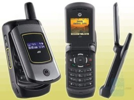 Motorola i570 Nextel iDen PTT rugged black cell phone - $43.56