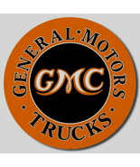 GMC General MotorsTrucks  Metal Sign Tin New Vintage Style USA #1012 - $10.29
