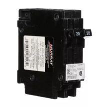 Murray MP2020 2 20Amp Single-Pole Type MH-T Tandem NCL Circuit Breaker - $14.03