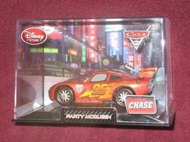 DISNEY STORE PARTY McQUEEN in Collector's Case PIXAR CARS 2.BRAND NEW. - $17.91