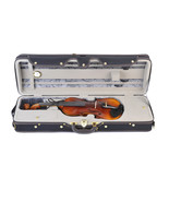ADM 4/4 Full Size Professional Deluxe Violin Case, Silk Interior - $238.00
