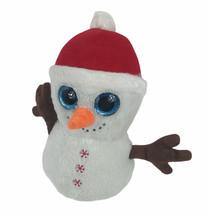 "Kellytoy Snowman 12"" Plush Big Blue Eyes Santa Hat - $15.78"