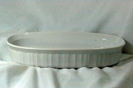 Corning Ware French White F-7-B Low Oval Individual Casserole - $9.00