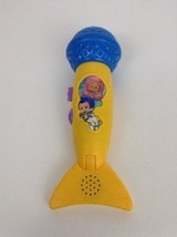 Bubble Guppies Singing Microphone Mattel Mic Songs Music Musical with Ba... - $24.90