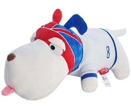 [England Captain] Cool Puppy Plush Doll Purification Car Doll/Car Decor,145.5''