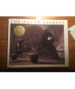 The Polor Express book w/ AudioBook on cd hcdj Magical Train Ride Full C... - $14.98