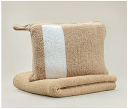 Kashwere Travel Throw Blanket - Camel - €64,19 EUR