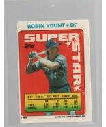 Robin Yount - OF - Super Star Baseball Card #54 - Topps Company - 1990 C... - $0.97