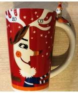 Nieman Marcus Porcelain Collectible Holiday Mug Dated 2003 - $16.34