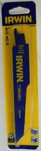 """Irwin with Weldtec 372666P5 6"""" x 6 TPI Demolition Reciprocating Blades 5 Pack US - $14.36"""