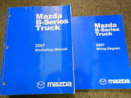 2007 Mazda B-Series Truck Service Repair Shop Manual Set Factory Oem Book 07 - $51.98