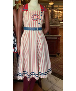2021 Disney Parks Dress Shop Casey's Corner Uniform Baseball Dress Adult XL - $141.56