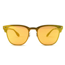 Ray-Ban Kids´Steel Sunglasses RB3576N Brushed Gold Non-Polarized 41 18 140 - $83.60