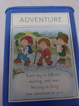 Vintage Hallmark Coin Tin Collectible Adventure, Fun,Discovery,Imagination Child image 2