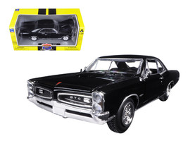 1966 Pontiac GTO Black Muscle Car Collection 1/25 Diecast Model Car by New Ray - $33.59