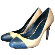 Cole Haan leather pumps with teal toes - $50.49
