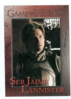 Primary image for Game of Thrones trading card #47 2012 Ser Jaime Lannister