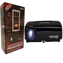 Windowfx Atmos Animated Window Projector Kit Includes 12 Pre-loaded Holi... - £149.61 GBP