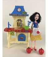 Disney Princess Snow White Stir & Bake Kitchen Playset Baker Doll 2016 H... - $22.23