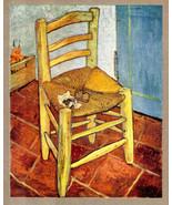 VAN GOGH 1935 LITHO PRINT w/COA € £ Vincent Van Gogh vintage investment ... - $189.00
