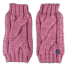 Bench Leyko Woodley Mitaines Tricot Acrylique Rose Gants