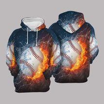Unisex Baseball 3D Hoodie All Over Print - $49.99