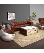 MarquessLife Handmade 100% Genuine Leather Luxury Industrial Series Tuft... - $1,266.74
