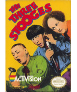 The Three Stooges NINTENDO NES Video Game - £7.17 GBP