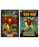 Iron Man Comics Collector Set of 2 Classic POSTERS Size Each 24x36 Best ... - $20.99