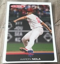 2019 Topps Total Baseball Wave 1 Aaron Nola - $0.99