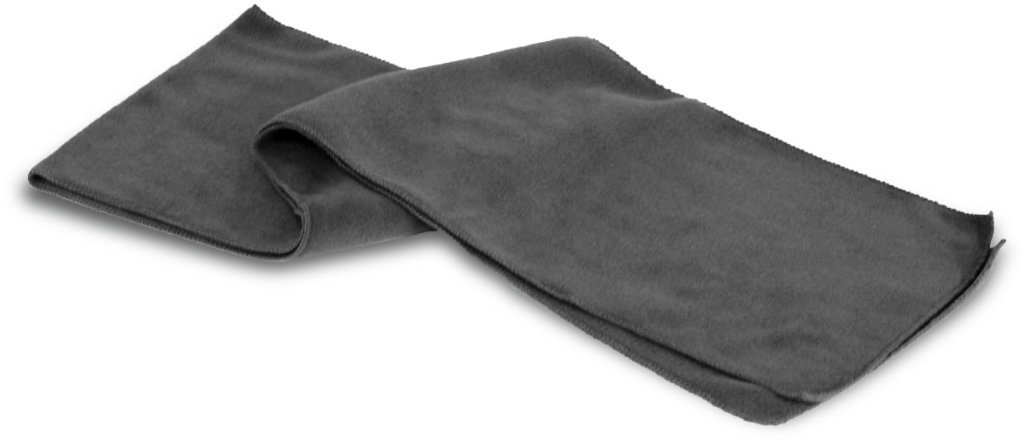 Case of [48] Heavy Weight Fleece Scarves - Charcoal
