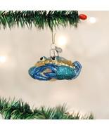 Blue Crab Glass Ornament - $18.95