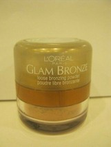 Loreal Glam Bronze Bronzing Powder Sandstone Shimmer Limited Edition - $11.08+