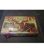 Hal-Sam Dominoes Double Nine 920R Missing 1 Domino - $6.85