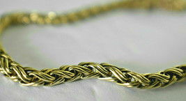 Rare TIFFANY & Co 14K Yellow Gold Russian Braid Bracelet Exc Cond Pouch ... - $1,796.92