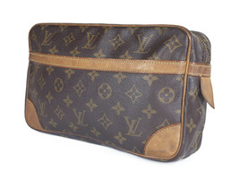 LOUIS VUITTON Compiegne 28 Monogram Canvas Pouch Clutch Bag LP2882 - $149.00