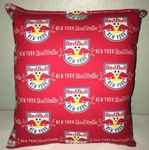 RedBulls Pillow New York Red Bulls Pillow NY RedBull MLS Handmade in USA... - $9.99