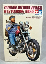 Tamiya Yamaha XV1000 Virago Motorcycle W/RIDER Figure Model Kit New! - $59.39