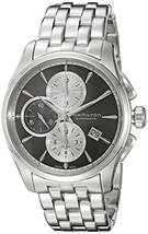 Hamilton Men's 'Jazzmaster' Swiss Automatic Stainless Steel Watch, Color... - $1,652.43