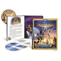 Disney The Pirate Fairy (Blu-ray+DVD+Book)
