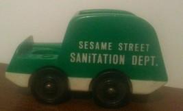 Vintage Fisher Price Sesame Street Little People Sanitation Dept. Truck  - $9.90