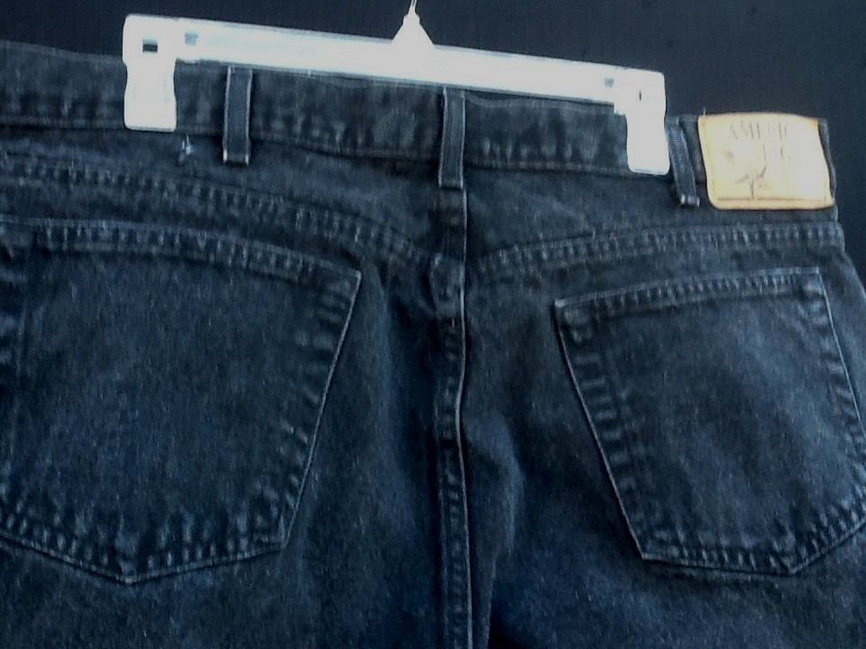 mens sz 42 x 30 American Legacy black jeans
