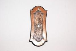 Vintage Allison Amerock Backplate For Knob Made in Japan Bronze - $7.89